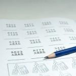 学習時間と教科のバランス